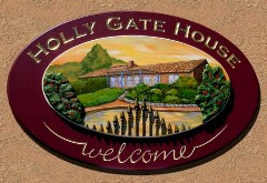 Holly Gate House Sign