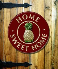 Handcrafted Door Sign